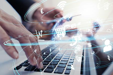"""Aufgeblättert: Digitalisierung – """"Daten. Oder: Eine neue Sicht auf die Welt."""" (Aufgenommen am 26.3.2020)"""