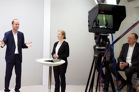 Achtung: Kamera läuft! Ihr Live-Auftritt im Medienstudio - Juni 2021